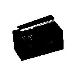 Papier mèches (12cm)